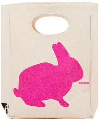 Fluf organic cotton Bunny Lunch Bag - http://www.mylittlegreenshop.com/ProductDetails.asp?ProductCode=MEAL_fluf_lunch_bag