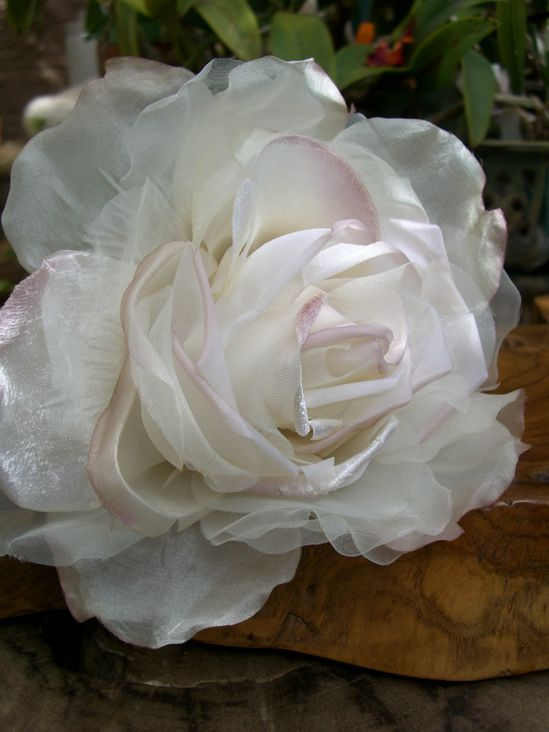 129 best handmade flowers images on pinterest handmade flowers large millinery couture rose mightylinksfo Gallery