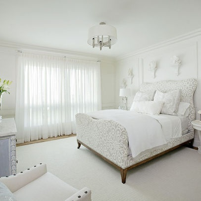 Looking For White Sheer Curtains For The Master Bedroom
