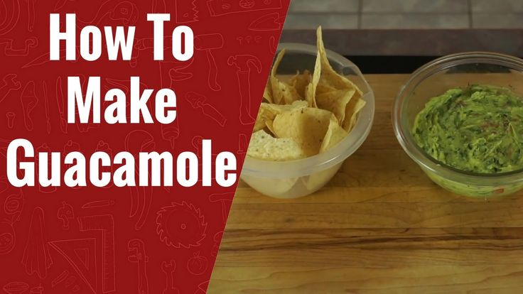 How to Make  Guacamole -   Fresh Homemade Easy Guacamole Recipe
