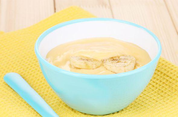 Compote de poire et banane pour bébé