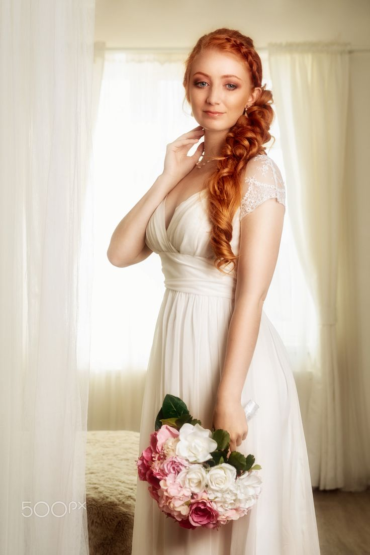 """Bride (5) - Wedding portrait of beautiful young woman.  You are welcome to visit my sites <a href=""""http://portretyzeman.cz/"""">www.portretyzeman.cz</a> and <a href=""""http://svatbyzeman.cz/"""">www.svatbyzeman.cz</a> for my other portrait works.  You can also visit my <a href=""""http://janz.cz/"""">blog</a> about photography and retouching."""
