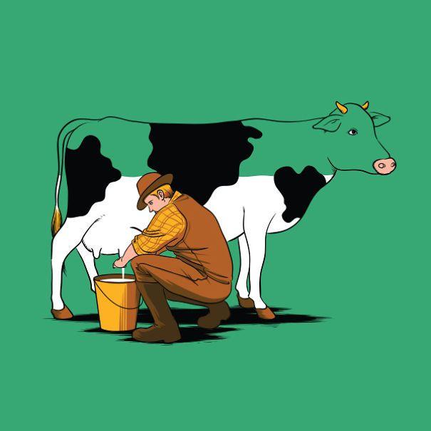 Top 15 des illustrations qui tordent la réalité de FlyingMouse365, de quoi se faire de beaux T-shirts