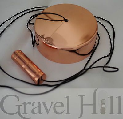 Bathroom Pull Cord Switch and Weight in STUNNING COPPER by Gravel Hill | eBay