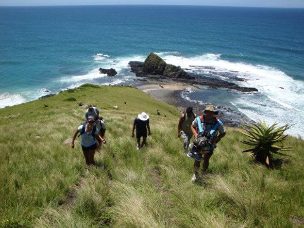 HIKING ALONG THE WILD COAST, SOUTH AFRICA. For more #things to do, see and experience in #Southern #Africa go to www.leka-escapes.co.za.