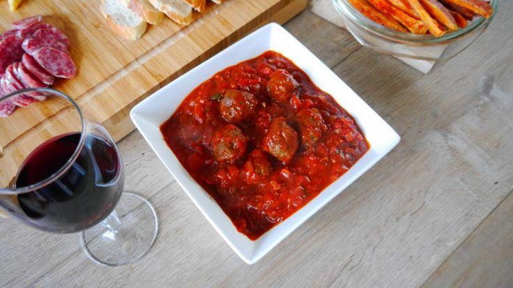 Hmmmm...... Albondigas recept - www.voor-spek-en-bonen.nl