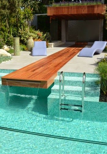 Always wanted a built in pool ever since I was a child.  I love the water.