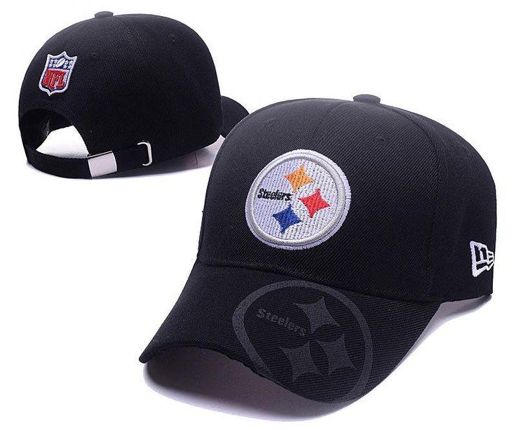 Men's / Women's Pittsburgh Steelers New Era 2016 NFL Sideline Slide Buckle Strap…