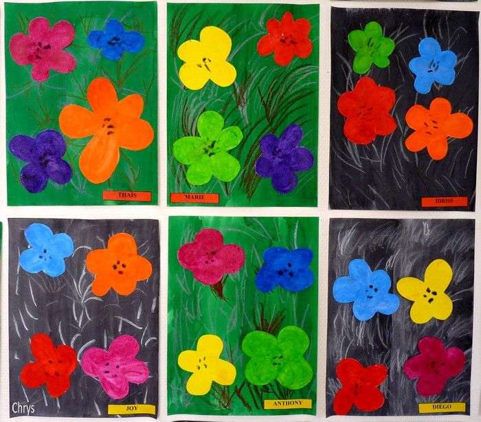 Le Journal de Chrys: Andy Warhol en maternelle