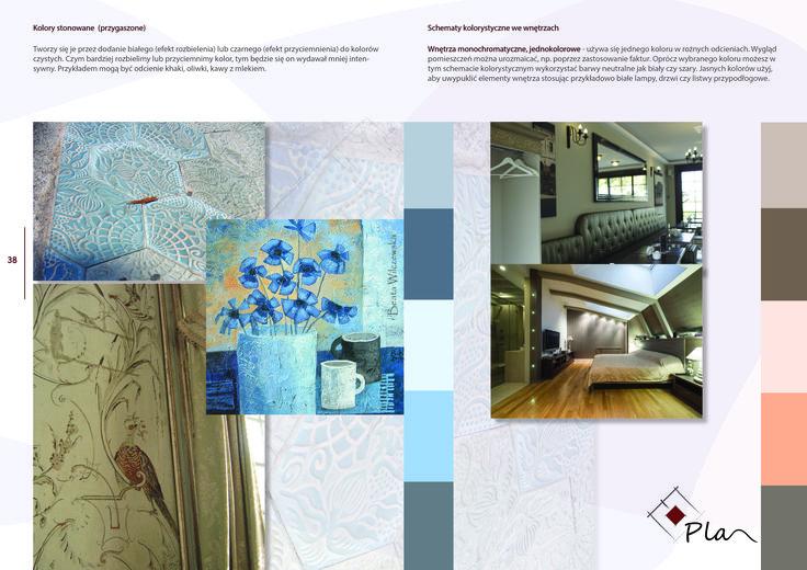 Projektowanie wnętrz, e-book, kolory  we wnętrzu