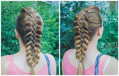 Trenzas hermosas paso a paso- Peinado recogido muy fácil ~ Belleza y Peinados
