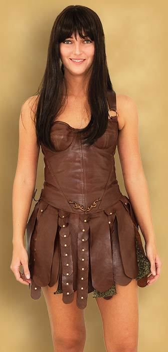 Xena Costume Dress Pattern - Todd's Costumes