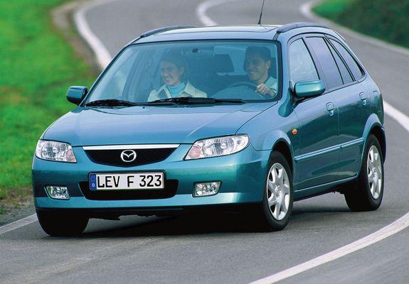 Mazda 323 F (BJ) 2000–03