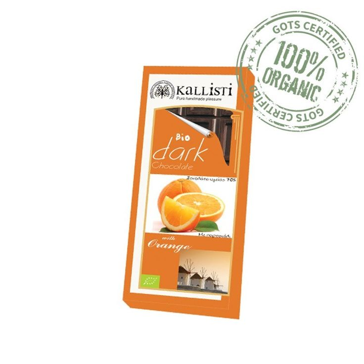 Black Chocolate Bio with Orange Kallisti