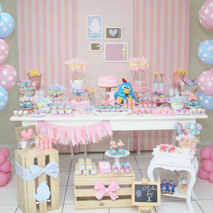 """421 Likes, 16 Comments - Jéssica Mendes ☀️ (@raiodesoldecor) on Instagram: """"Uma festa linda, delicada, cheia de detalhes, toda em tons pasteis com destaque pro rosa como a…"""""""