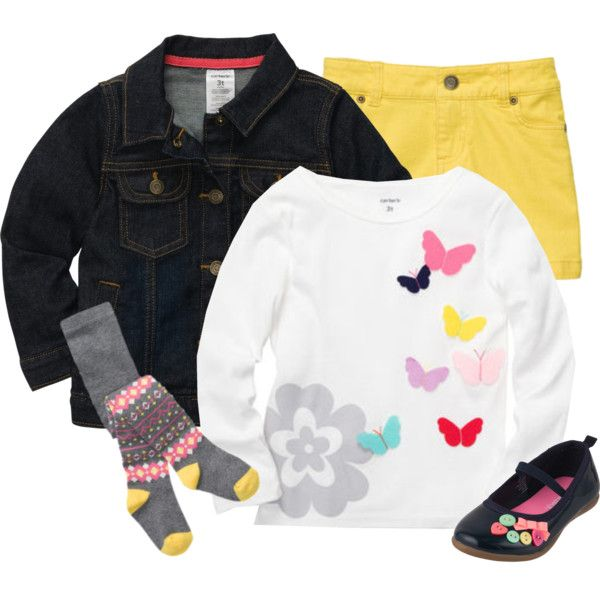 Baby Girl - Fall Outfit ~ Everything can be bought at Carter's. Plus, get 20% off your order with promo code.