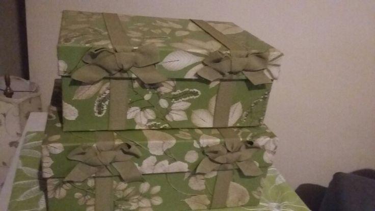 Essas caixas... São  de encjer os olhos!!! Guardam até  segredos!!!