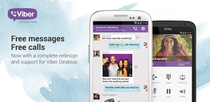 Viber : Free Calls & Messages v3.0.2.5 - Frenzy ANDROID - games and aplications