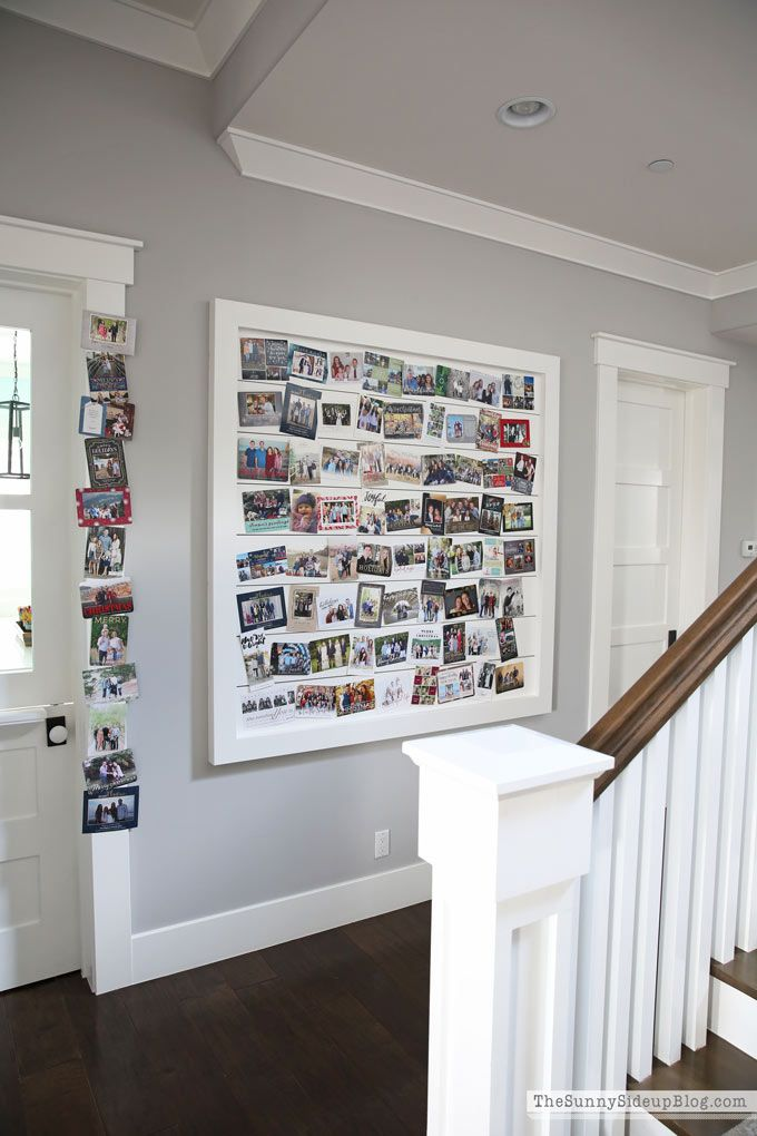 Shiplap Display Wall Through The Seasons The Sunny Side Up
