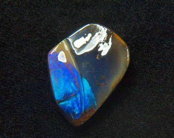 Beautiful 12.6CT Australia polished boulder opal cabochon