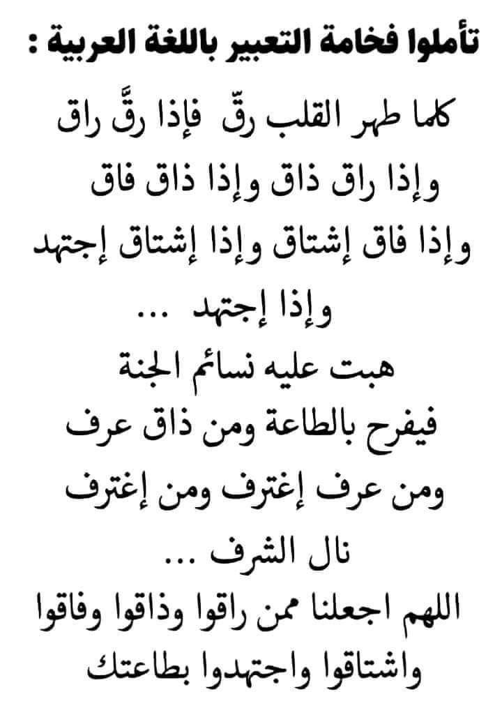 فخامة اللفة العربية Bonheur