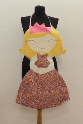 Princess Apron by HappyApronsTR on Etsy, $60.00