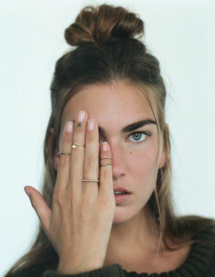 Les 25 meilleures id es de la cat gorie tatouage doigt - Tatouage doigt femme ...