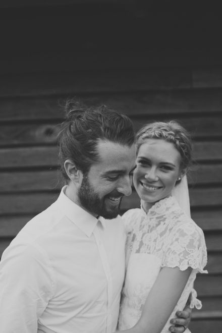 Just love this couple, natural, 60's vibe wedding photography