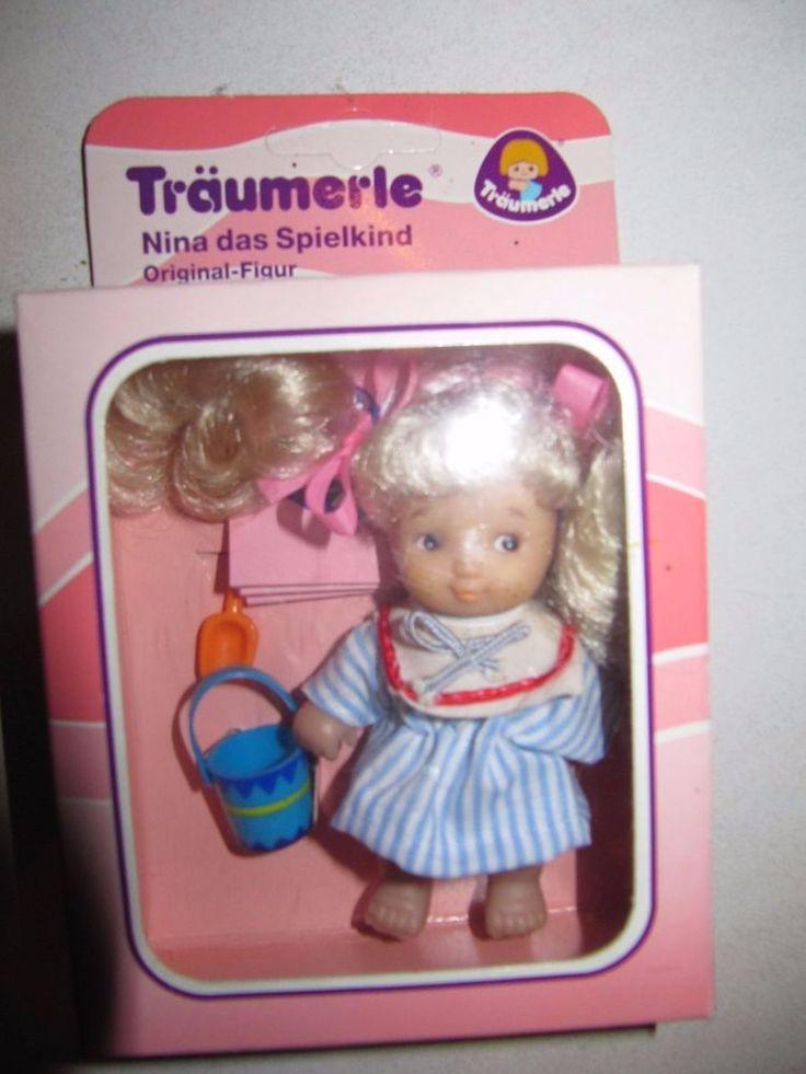 Träumerle Puppe OVP Nina das Spielkind Original Figur aus dem Träumerle Paradies