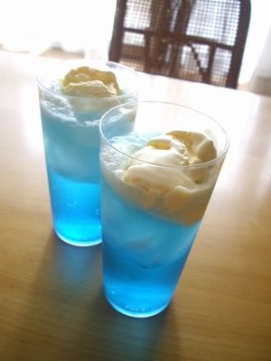 Lovely Peaceful Blue Drink. Beautiful & Refreshing to Drink. 😉💙