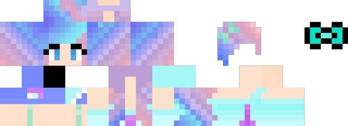 Pastel Goth Girl | minecraft para chicas | Pinterest ...