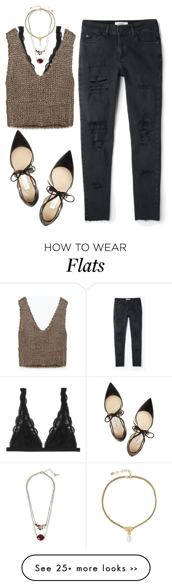 """""""➣"""" by kennedydrm9 on Polyvore featuring Monki, Zara, MANGO, Jimmy Choo and Susan Caplan Vintage"""