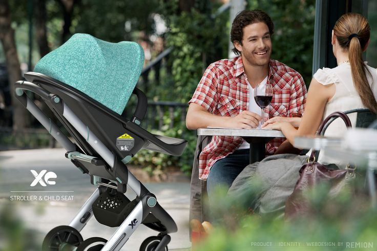 XE Stroller and Child Seat! Industrial Design by REMION, Budapest