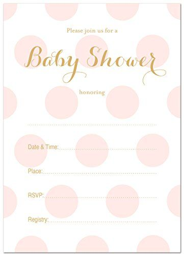 baby shower invitations for girls template - Etame.mibawa.co