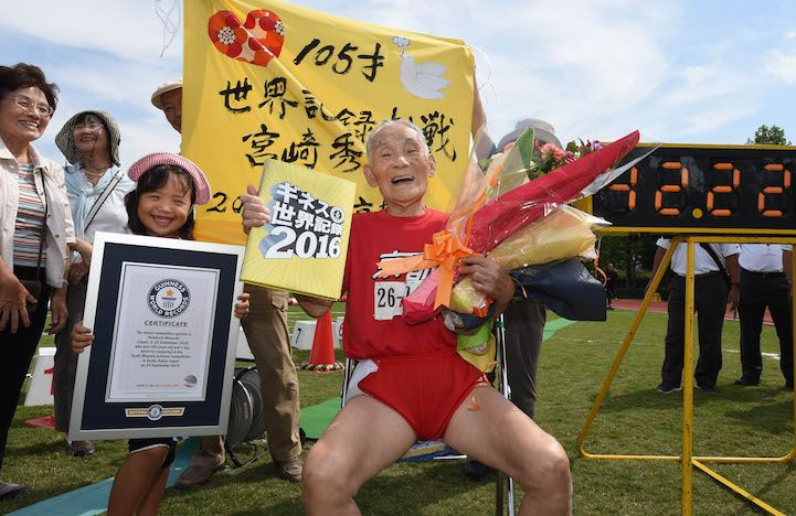 105-Year-Old Man Sets 100m Sprint World Record for His Birthday - My Modern Met