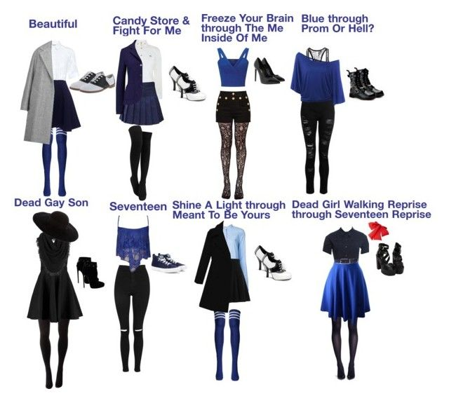 Veronica Sawyer Song Outfits (Heathers The Musical
