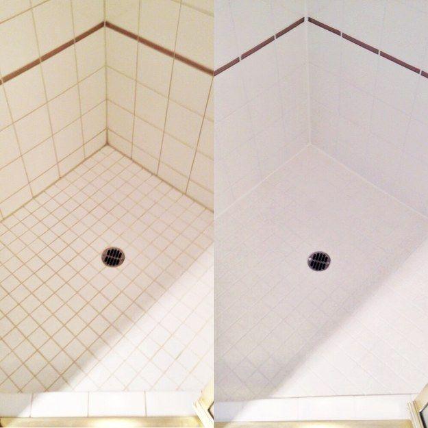 Quand vous lavez la douche à l'eau de Javel et que la moisissure et la saleté s'enlèvent vraiment. | 20 expériences orgasmiques pour tous les fans de ménage