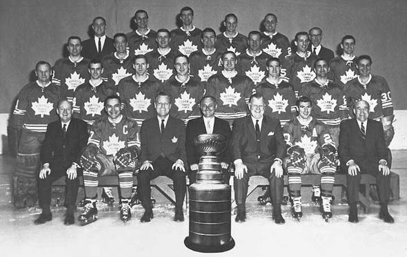 Toronto Maple Leafs 1967 Stanley Cup Champions.