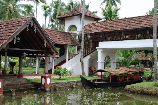 Coconut Lagoon, Kerala. One of the most beautiful places I've stayed at.