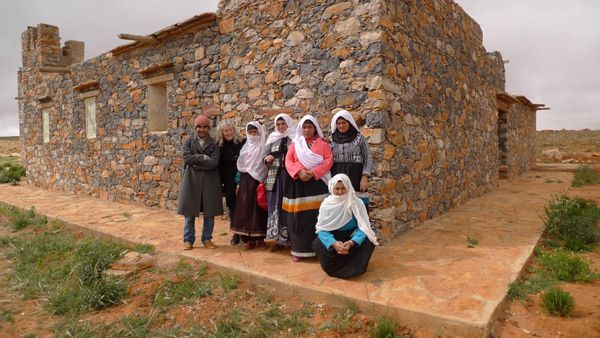 From our latest buying trip to Morocco and our visit to the women weaving cooperative in the Atlas Mountains