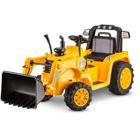 Kidtrax CAT Bulldozer/Tractor 6V Battery Powered Ride-On, Yellow