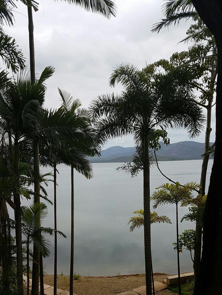 Beautiful view of Lake Awoonga dam in Gladstone