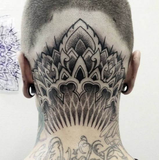 Coolest Head Tattoos | PressRoomVIP - Part 4