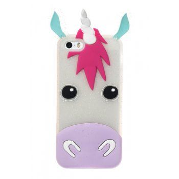Unicorn silicone Iphone Case