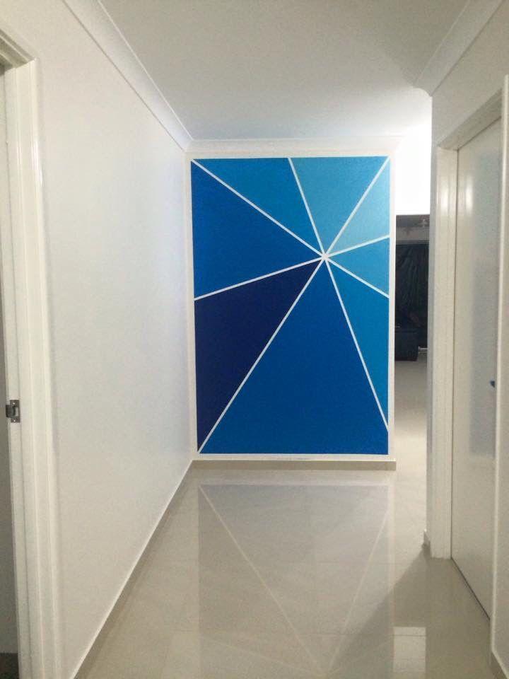 #dulux #passionateblue #feature #wall #paint #DIY    – Zuhause