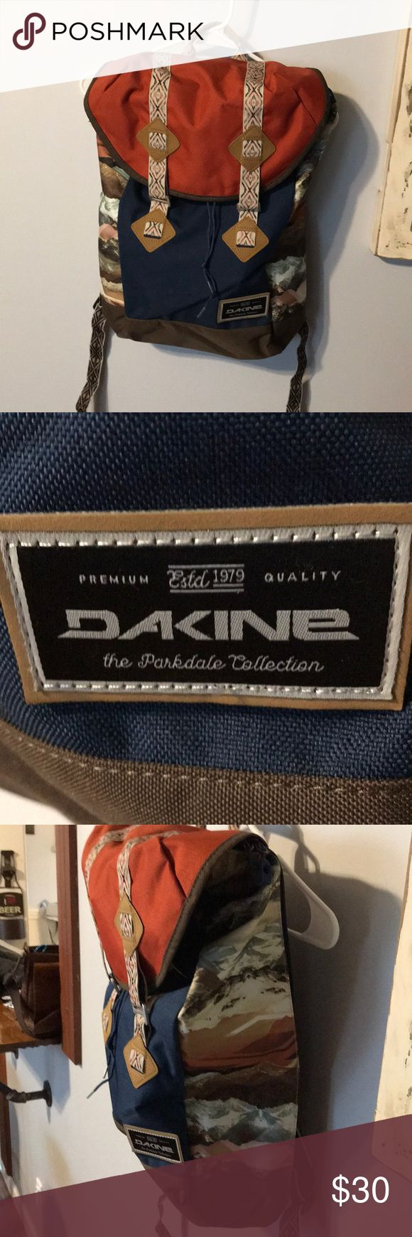 Dakine rucksack/backpack Brand new, never used. Tags were removed. Padded space for you laptop/computer, with easy zipper access from the side. Make me a reasonable offer Dakine Bags Backpacks