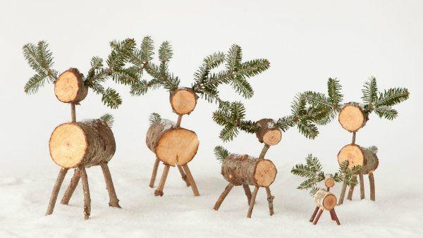 DIY - Christmas Tree Reindeer