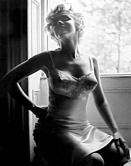"""Marilyn on the set of """"The Seven Year Itch"""". Photo by Sam Shaw, 1954."""