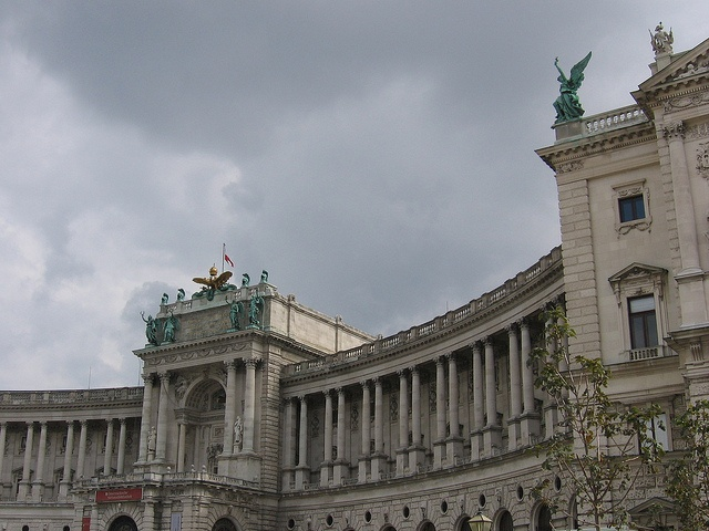 The Hofburg in Vienna, where Elodie would have attended many events for the Congress of Vienna.