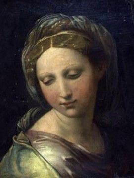 Raphael painting found in a cellar? Don't know if it is confirmed as his but certainly Gorgeous